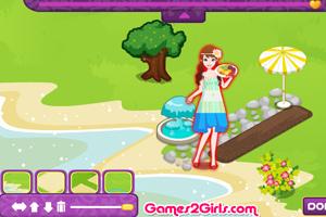 《搭建小花园》游戏画面1