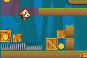 《鼠标拖方块》游戏画面1