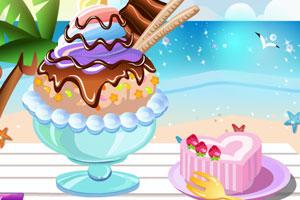 《美味大碗冰淇淋》游戏画面1
