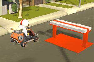 《神奇小子卡丁车》游戏画面1