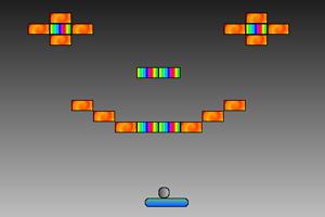《弹打砖块》游戏画面1