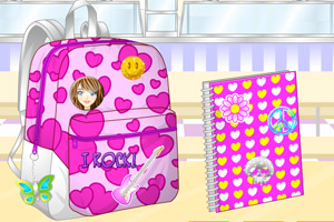 《设计书包和笔记本》游戏画面1