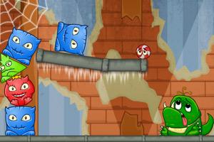 《怪物吃糖果》游戏画面1