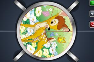 《小鹿斑比拼图》游戏画面1