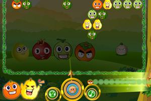 《水果泡泡龙》游戏画面1