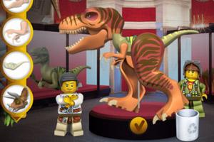 《樂高恐龍博物館》游戲畫面1