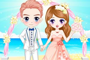 《浪漫沙滩婚礼》游戏画面1