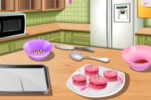 《漂亮姐姐做糕点》游戏画面1