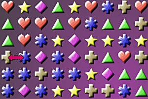 《魔力宝石》游戏画面1
