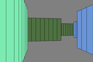 《彩色3D迷宫》游戏画面1