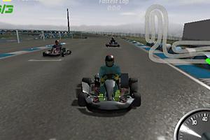 《3D卡丁车大赛》截图1