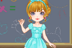 《可爱小老师》游戏画面1