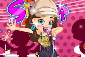 《美丽的女歌手》游戏画面1