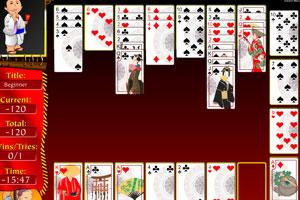 《扑克大接龙》游戏画面1