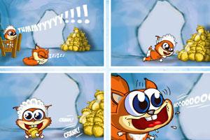 《可爱松鼠吃榛子》游戏画面1
