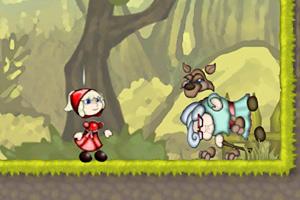 《小红帽救奶奶》游戏画面1
