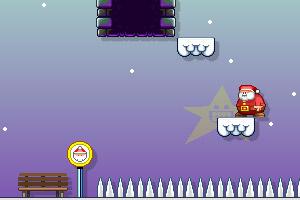 《圣诞老人快点跑》游戏画面1