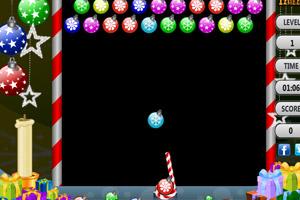 《圣诞星泡泡龙》游戏画面1
