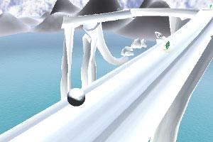 《3D冰河之球》游戏画面1