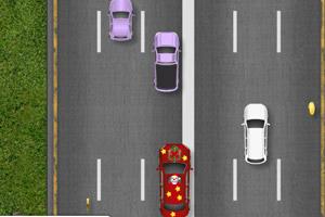 《高速驾驶圣诞版4》游戏画面1