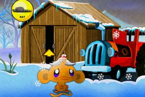 《逗小猴开心圣诞节版》游戏画面1