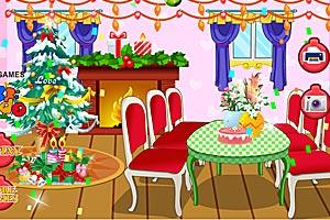 《装饰圣诞客厅》游戏画面1