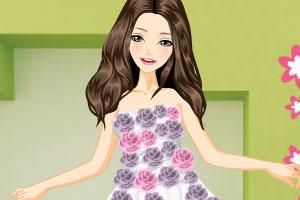《美丽薄纱礼服》游戏画面1