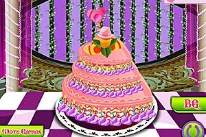 《可口冰淇淋蛋糕》游戏画面1