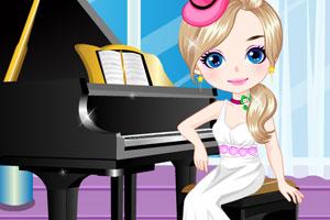 《弹钢琴女孩》游戏画面1