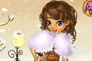 《米娜的冬装》游戏画面1