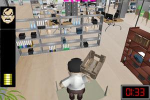 《办公室破坏大王》游戏画面1
