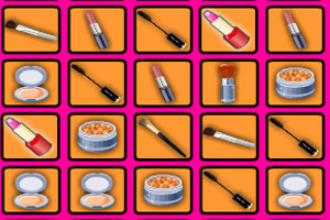 《化妆品连连看》游戏画面1
