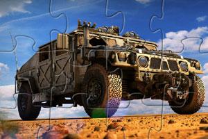 《陆军战车拼图》游戏画面1