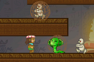 《古墓探险记》游戏画面1