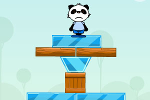《熊猫落地》游戏画面1