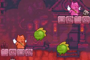 《肥猫天使2增强无敌版》游戏画面1