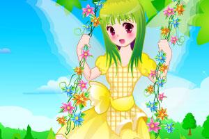 《甜美秋千女孩》游戏画面1