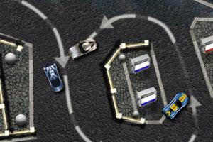 《环形赛车跑道》游戏画面1