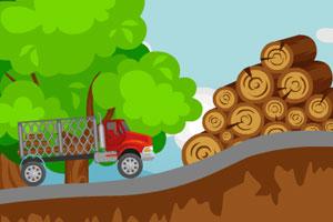 《货车运输木材》游戏画面1
