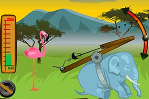 《动物投篮大赛》游戏画面1