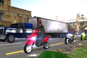 《极速摩托飙车》游戏画面1