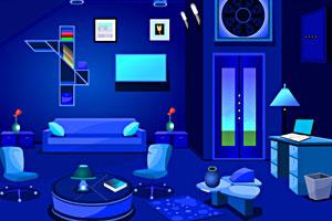 逃离蓝色房间