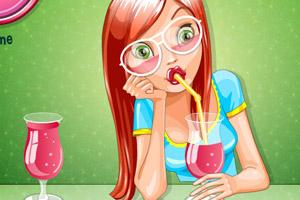 《比赛喝果汁》游戏画面1