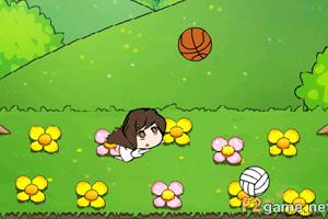 《大眼萌萌保护花朵》游戏画面1