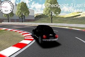 《亡命之徒的赛车》游戏画面1