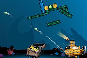 潜水艇寻宝藏