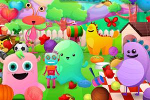 《怪物野餐找东西》游戏画面1
