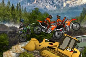《摩托障碍竞速赛》游戏画面1
