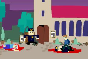 《狼人暴力罪犯》游戏画面1