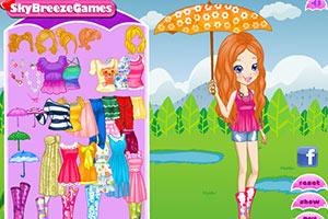 《雨中的波莉》游戏画面1